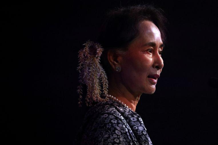 Aung San Suu Kyi  Beeld REUTERS