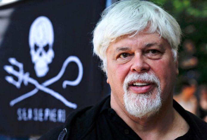 Paul Watson, oprichter van Sea Shepherd.