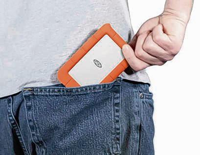 GPD consument. De Rugged Mini; een beresterke, miniharde schijf van LaCie.