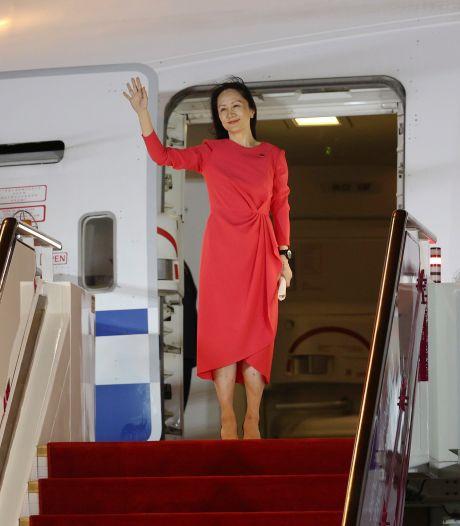 Vrijgelaten Huawei-topvrouw als held onthaald in China, ook Canadese gevangenen weer in thuisland