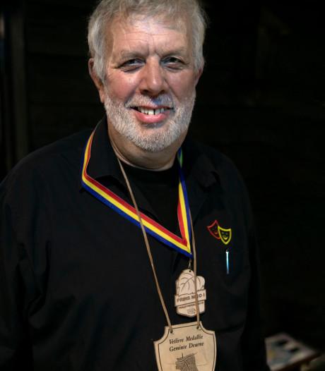 Vetlirre medaille voor  Albert Sleegers