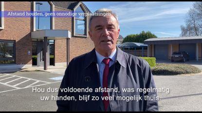 """""""Geef de moed niet op"""": burgemeester steekt burgers hart onder riem in videoboodschap"""