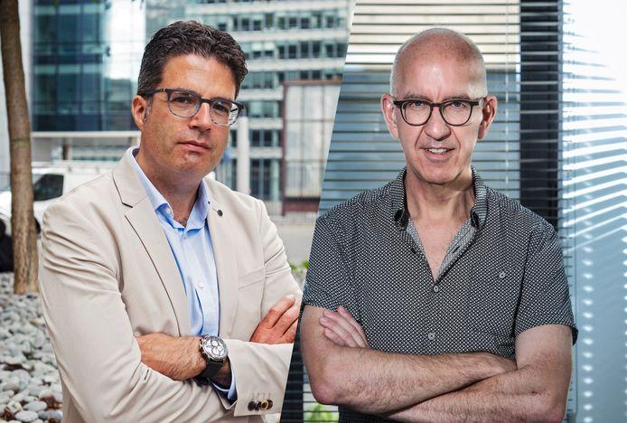 Steven Van Gucht en Geert Molenberghs.