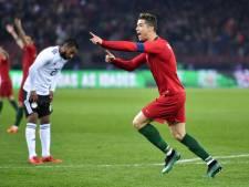 Ronaldo grote man bij Portugal, Polen verliest van Nigeria
