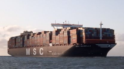 Nieuw recordschip onderweg naar Waaslandhaven
