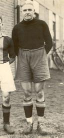 Go Ahead-doelman Leo Halle in de jaren dertig.