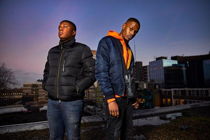Het nieuwe jaar ziet er goed uit voor Equalz. De rappers Stylez (links) en Alwaysbizzy hebben een bomvolle agenda.