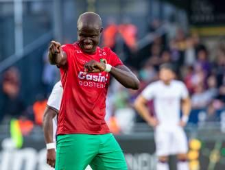 """Makhtar Gueye (KV Oostende) schiet met scherp: """"Mijn doelstelling dit seizoen? 15 goals scoren"""""""