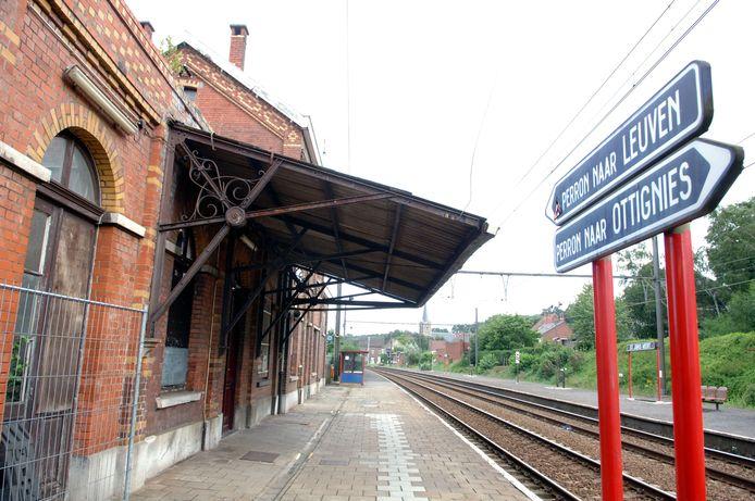 Het station in St-Joris-Weert