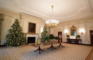 fotoreeks over Pracht en praal: zo viert men kerst in het Witte Huis