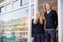 De eigenaren van Poké Perfect: Quinta (29) en Gerrit Jan Witzel (34)