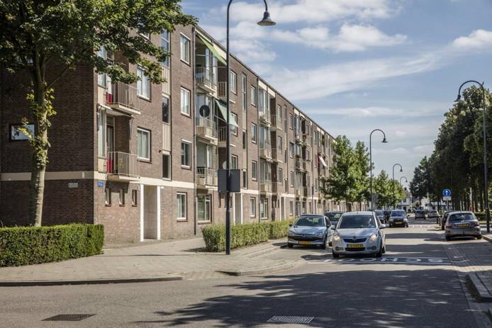 De flats aan de Vinkelaan in Helmond.