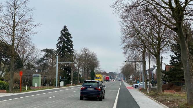 Plaatsing trajectcontrole op N9 tussen Oordegem en Wetteren gestart
