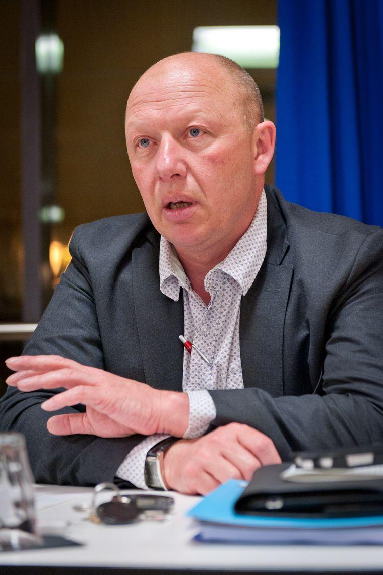 Kamerlid Hans Bonte Beeld BELGA