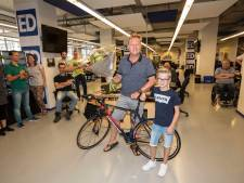Winnaar ED-Tourspel Léon Kox uit Duizel gaat nu ook zelf fietsen