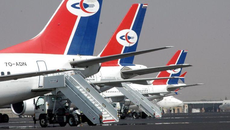 De luchtvaartmaatschappij stond niet op de zwarte lijst, maar werd wel streng gecontroleerd. Foto EPA Beeld