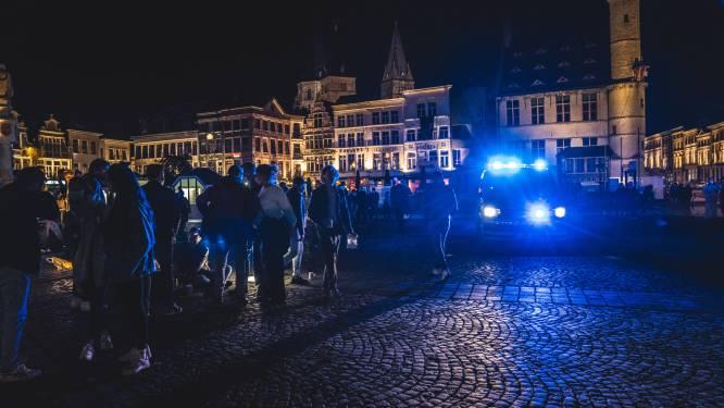 Gent probleemloos ontruimd na een drukke eerste terrasdag. Politie opereerde vooral in burger, en dat was slim