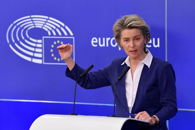 Ursula von der Leyen Beeld AFP