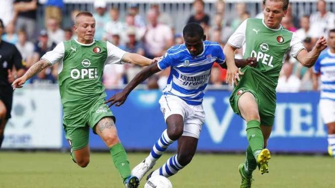 Huurling Fernandez bezorgt Feyenoord valse start in Zwolle