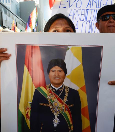 Gevallen staatshoofd Morales vraagt asiel aan in Mexico