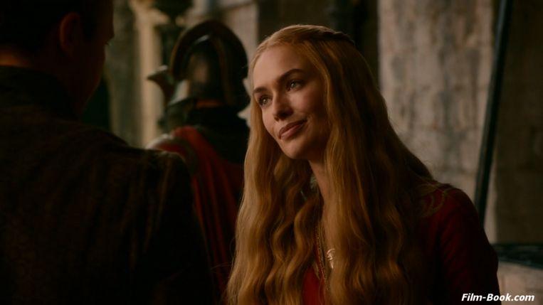 Personage Cersei Lannister heeft in de tv-reeks 'Game of Thrones' een relatie met haar broer Jaime. Beeld HBO