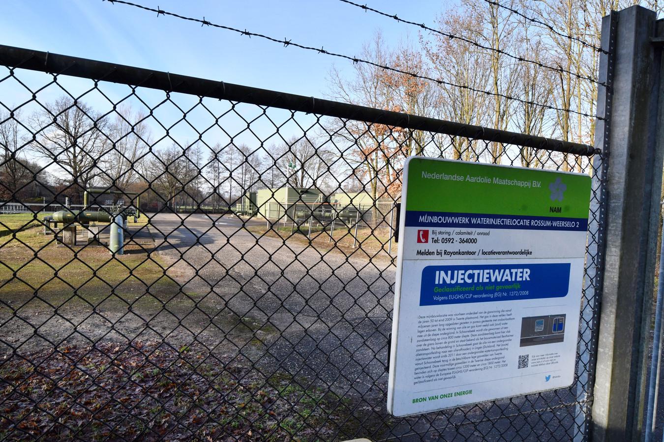 De NAM pompt minder vervuild water in de injectieputten bij Rossum.