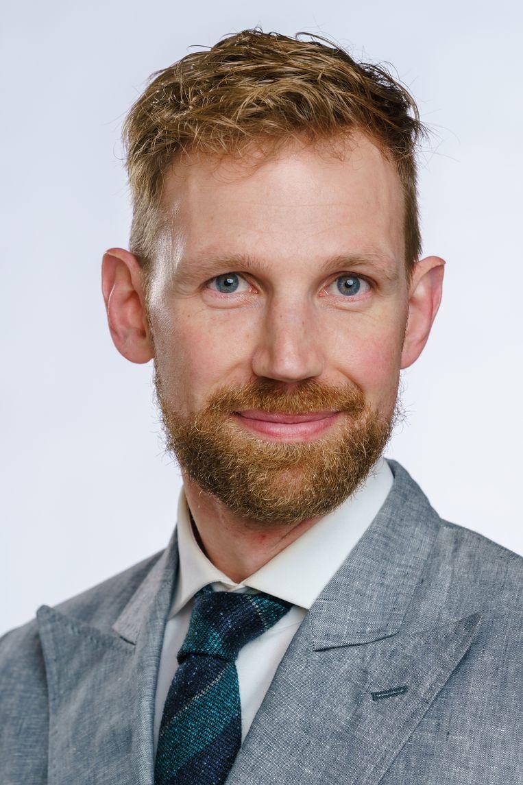 Dennis Wiersma (VVD) wordt dinsdag beëdigd als staatssecretaris van Sociale Zaken. Beeld Hollandse Hoogte /  ANP