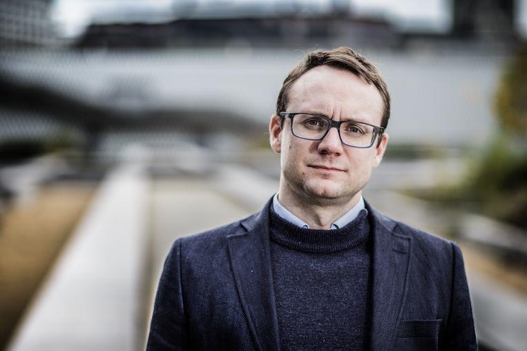 Joachim Pohlmann wordt kabinetschef cultuur bij Jan Jambon. Beeld Bob Van Mol