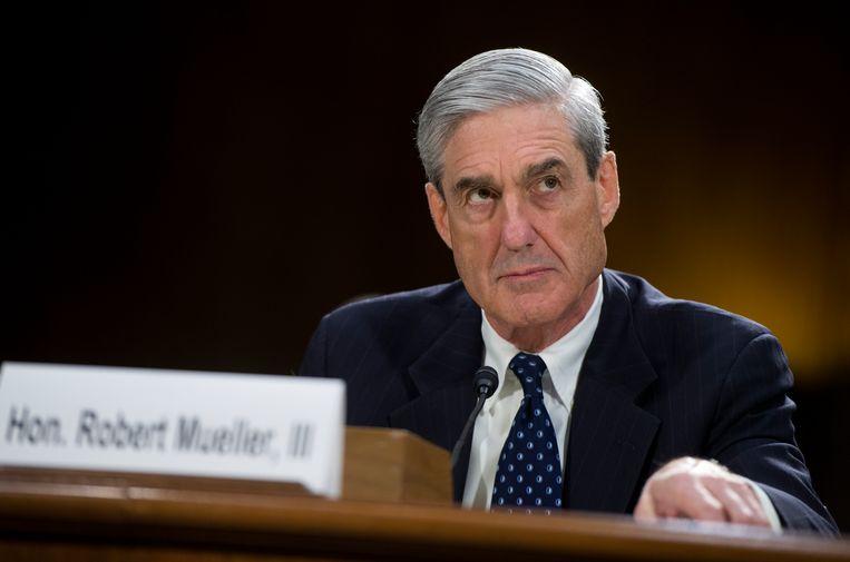 Special counsel Robert Mueller voert het onderzoek naar banden tussen de Trump-campagne en de Russische regering. Beeld CQ-Roll Call,Inc.