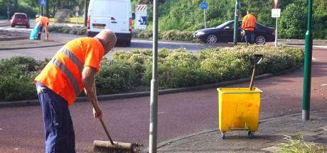 Oranjefeestje op rotonde in Bunschoten blijft wél binnen de perken: 'Hoefden de inzet niet op te schalen'
