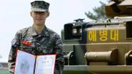 Son is ook naast het veld goed bij schot: Tottenham-aanvaller valt in de prijzen bij voltooiing militaire dienstplicht in Zuid-Korea