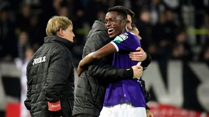 Football Talk. Sambi  Lokonga dicht bij contractverlenging bij Anderlecht