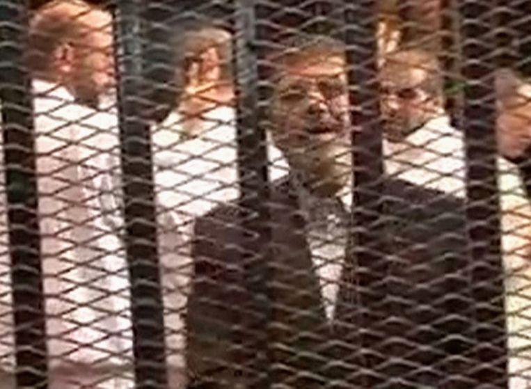 Het leger bracht in 2013 het bewind van moslimbroeder Mohamed Mursi ten val. De nieuwe regering van Egypte is fel gekant tegen de islamitische beweging van Morsi. Beeld REUTERS
