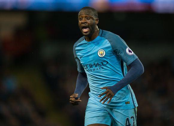 Yaya Touré speelde acht seizoenen in het shirt van Manchester City.