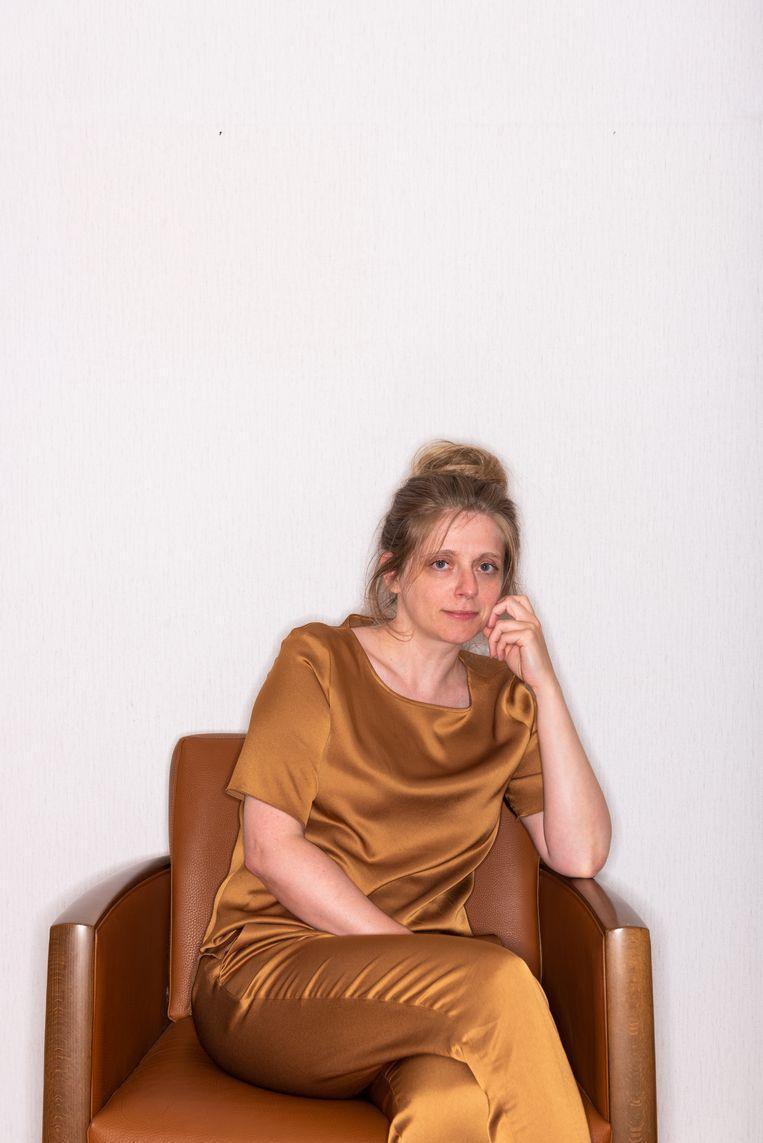 Katleen Gabriels. Beeld Wouter Maeckelberghe
