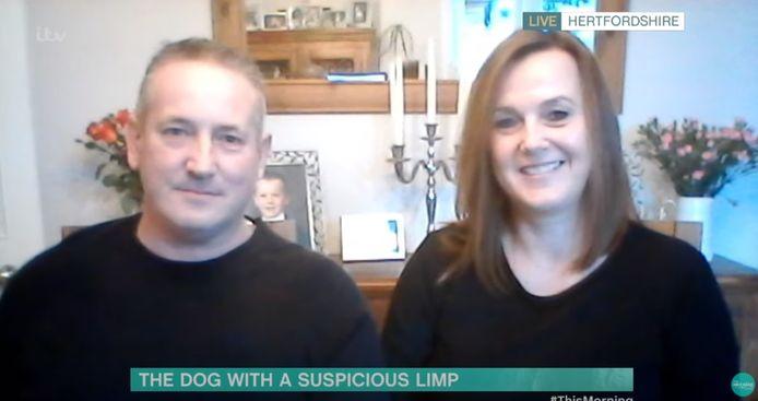 Russell en Michelle mochten hun verhaal intussen ook al doen in de Britse ontbijtshow 'This Morning'.