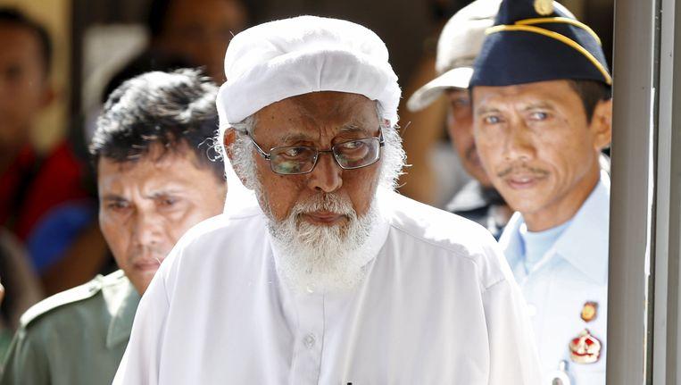 Abu Bakar Bashir Beeld REUTERS