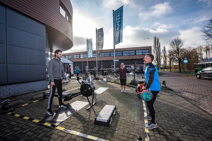 Afgelopen zaterdag konden 36 sporters bij The Gym terecht.