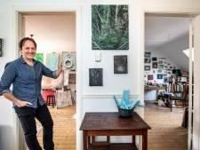 Edwin Smet tekent met schilderstape en verkoopt via Facebook: de kunstwerken vliegen de deur uit