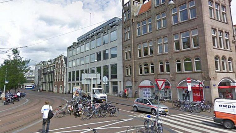 De universiteitsbibliotheek aan het Koningsplein. © Google Streetview Beeld