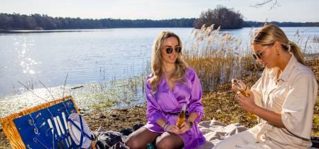 Picknicken bij de IJzeren Man: 'Op deze mooie dag hebben we maanden gewacht'