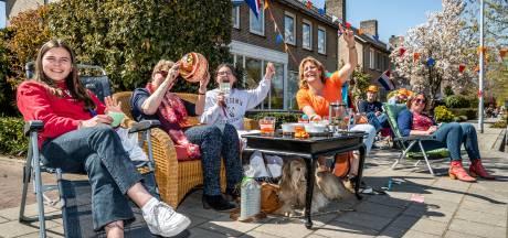 Op Koningsdag is het muisstil in de Nuenense Jacob Catsstraat. Totdat...