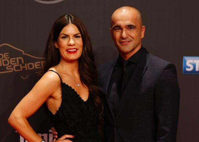 Roberto Martínez en zijn vrouw Beth.