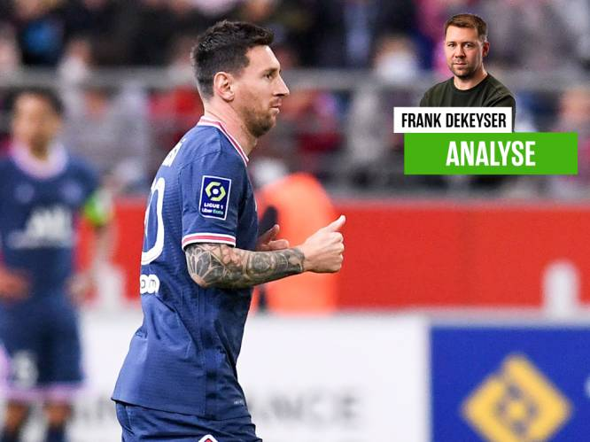 """Onze man in Reims zag hoe 'Parisien' Lionel Messi iedereen kippenvel bezorgde: """"Zijn jullie klaar, Jan Breydel?"""""""