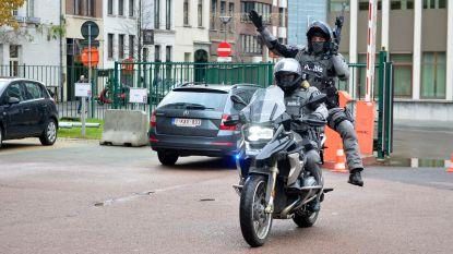 Met machinegeweer op de motor: politie Antwerpen stelt nieuw interventieteam voor