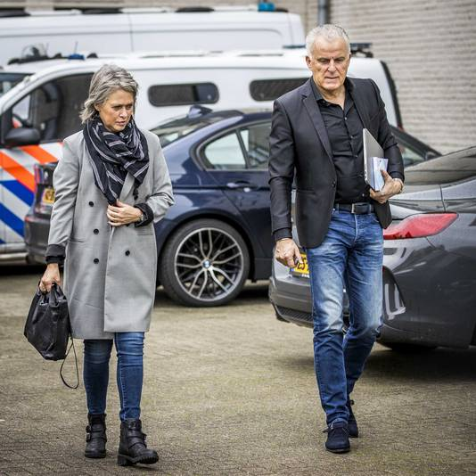 Berthie Verstappen en Peter R. de Vries.
