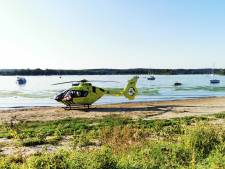 Watersporter zwaargewond bij Rhederlaag; per traumaheli naar RadboudUMC in Nijmegen