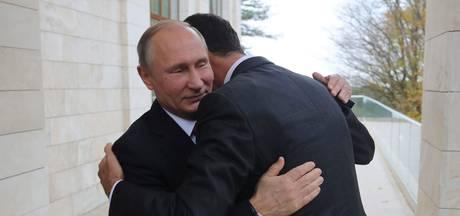 Poetin en Assad spreken over toekomst Syrië