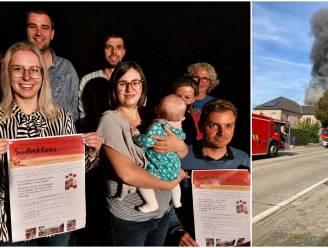 Massale steun voor gezin na woningbrand: ene wast kledij, andere deelt winkelruimte en buren houden geldinzamelactie
