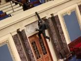 Bizarre beelden van bestorming Capitool